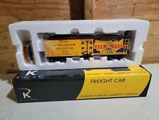 O Gauge 3-Rail K-Line K742-8024 IGA Good Food Stores Wood Sided Reefer #16803