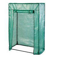 Lex tomatengewächshaus, cadre en métal, PE gewebefolie, 100 x 50 x 150 cm
