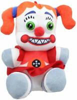"NEW FIVE NIGHTS AT FREDDY'S 7"" CIRCUS BABY TOY. FNAF. PLUSH LICENSED . SOFT"