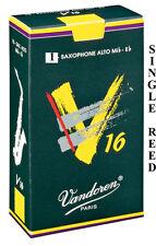 Vandoren V16 Alto Saxophone Single Reed Strengths 1.5 2 2.5 3 3.5 Free Delivery