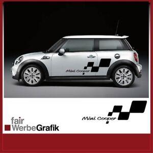 Aufkleber Mini Cooper Sign Dekor Seitenstreifen 800 mm #0034