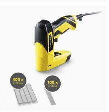 TROTEC Elektrotacker PTNS 10-230V Nagler Hefter mit Klammern Klammergerät Tacker