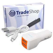 Universal 2-fach USB Kfz-Adapter Auto Ladegerät für ZTE Smartphone