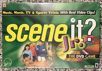 SCENE IT? JR. DVD Trivia Board Game by MATTEL, 2004 NEW & Sealed