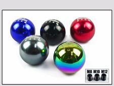 ROUND BALL TYPE MUGEN SHIFT KNOB 6 SPEED GRAY FOR HONDA ACURA TOYOTA NISSAN