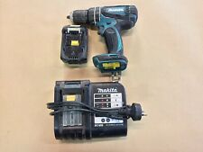 MAKITA CORDLESS HAMMER DRILL DHP456 WITH CHARGER AND BATTERY