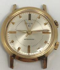 Elgin Alarm Swiss Made Vintage Mechanical Manual Winding Mens Watch