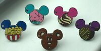 Disney Pin - DLR 2015 Hidden Mickey Food Series - Set of 5 Pins