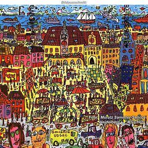 James Rizzi  -  Heilbronn-Edition  -  NEU  -  im Original-Folder