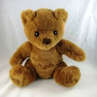 Build A Bear Brown Bear Plush Stuffed Animal Soft Toy Sitting BAB BABW 11""