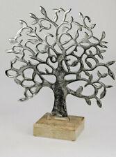 Dekoobjekt Herz H 24cm Alu Mango Holz Formano F20