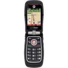 Motorola Barrage V860 - Black (Verizon) 3G Cellular Phone Pre-Owned Rugged GPS