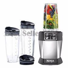 Ninja BL482 8 Piece Fruit Pro Vegetable Juicer Extractor Blender Set Auto iQ