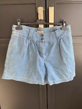 APC Madras Denim Shorts Size M
