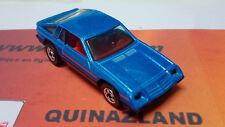 Hot Wheels Dodge Omni 024 bleu Hong Kong 1983 (BC4)