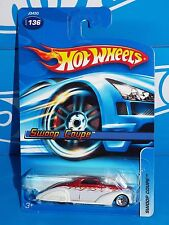 Hot Wheels 2006 Mainline #136 Swoop Coupe Red & White w/ 5SPs & SKs