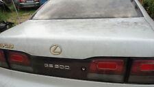 1993-1997 LEXUS GS300 TRUNKLID DECK PEARL WHITE COLOR  OEM