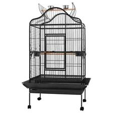 New listing i.Pet Bird Cage Pet Cages Aviary 168Cm Large Travel Stand Budgie Parrot Toys