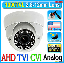 "1000TVL 1/3"" 720P 1.3MP 2.8-12mm NEW IR Vandal Proof DOME CCTV NIGHT CAMERA"