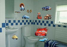 Movie Cars 2 Macqueen Wall Stickers Kids Playroom Decor Mural Art Vinyl Decals