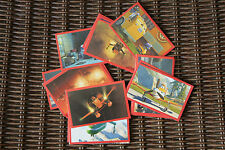 Lot de 10 Autocollants/Stickers Panini Planes 2 au choix