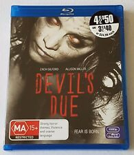 Devil's Due Blu-ray, 2014 Like New (#BRD00141)