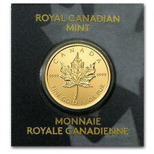 2016 Maplegram25™ 1 gram .9999 Gold Canadian Maple Leaf - Royal Canadian Mint