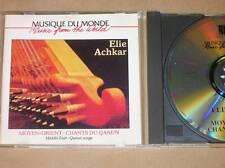 CD / ELIE ACHKAR / MOYEN ORIENT / CHANTS DU QANUN / TRES BON ETAT