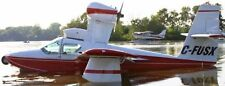 Skimmer Colonial USA Airplane Mahogany Kiln Dry Wood Model Small
