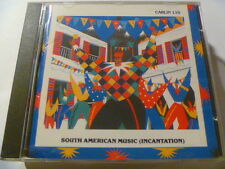 SOUTH AMERICAN MUSIC INCANTATION 110 CARLIN RARE LIBRARY SOUNDS MUSIC CD