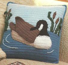 Canada Goose Pillow crochet PATTERN INSTRUCTIONS