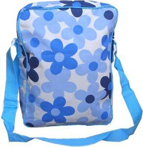 Ladies Shoulder Flower Power Print Design Hand Travel Womens Bag New Retro Funky