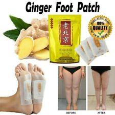 50pcs Ginger Foot Pads Patch Herbal Organic Cleansing Detox Pad