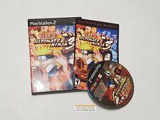 Naruto Ultimate Ninja 3 - Complete PlayStation 2 PS2 Game