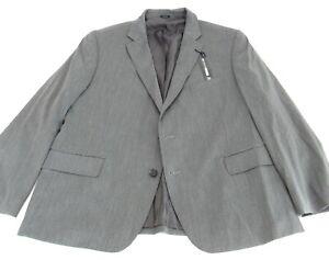 Men's J Ferrar  Stretch Classic Suit Jacket Dark Grey Size 46SH MSRP $190