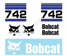 Bobcat 742 Skid Steer Set Vinyl Decal Sticker Aftermarket