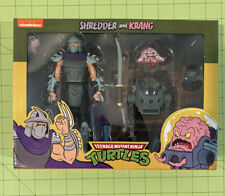 NECA TMNT Target Exclusive Ninja Turtles Shredder Krang 2 Pack 2020.