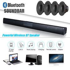 Soundbar System Surround Sound Bluetooth 4* Spaker Subwoofer for TV Home Music