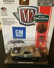 2017 M2 Machines Official Convention 1969 Camaro Raw Super Chase 1 of 252