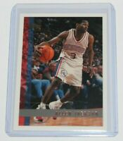 1997-98 Topps Allen Iverson #54 2nd Year RC Rookie Basketball Card Super Sharp!