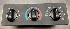1999 00 01 02 2003 Ford Super Duty Heater Ac Control Switch Panel F250 F350 oem