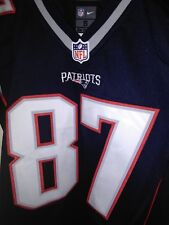 98b1a4762 Nike On Field New England Patriots Rob Gronkowski embroidered youth jeresy S
