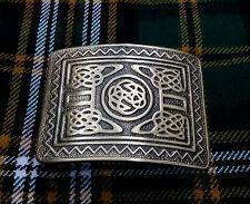 Men's Swirl Celtic Knot Kilt Belt Buckle Antique/Highland Kilt Celtic Buckles