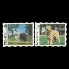 Monaco 1982 - Intl. Dog Show Monte Carlo Fauna Animals - Sc 1336/7 MNH