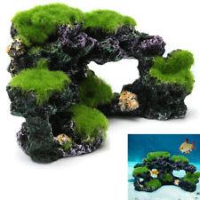 Aquarium Coral Reef Rock Fish Tank Decoration Cave Through Island Pass Ornament