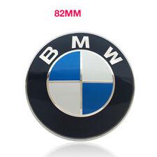 BMW 82mm badge Front Rear Bonnet Boot Logo Badge Emblem 1 3 5 6 7 Z X6 X5 Series