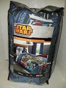 Disney Star Wars Full/Queen Reversible Comforter