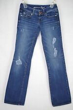 American Eagle Distressed Boot cut Jeans Size 0