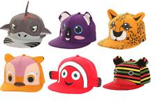 NOVELTY ANIMAL CHILDRENS/KIDS BASEBALL CAPS/HAT SNAPBACK PEAK SUMMER HOLIDAY SUN