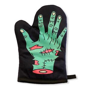 Zombie Hand Oven Mitt Funny Halloween Undead Graphic Novelty Kitchen Accessories